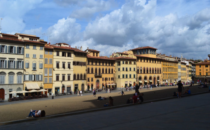 Esplanade du Palazzo Pitti